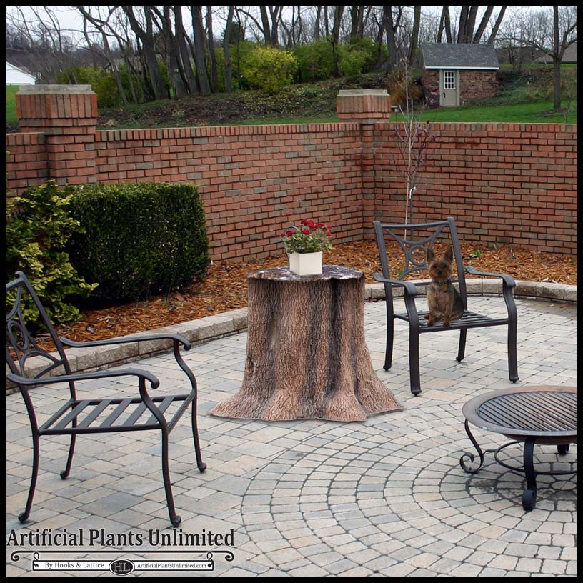 Tree Trunk Table Click To Enlarge