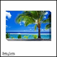 Tropical Blue Paradise - Canvas Artwork
