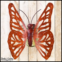 Tuscan Butterfly Wall Planter Hurricane