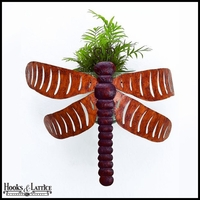 Tuscan Dragonfly Wall Planter Hurricane