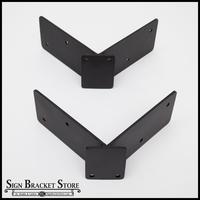 Universal Corner Mount Blade Sign Bracket Adapter (2 pcs) | 90 Degrees