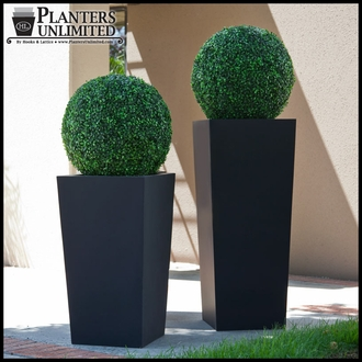 Urban Chic Tapered Premier Composite Commercial Planter 36in.L x 36in.W x 36in.H