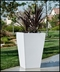 Urban Chic Tapered Premier Composite Commercial Planter 48in.L x 18in.W x 24in.H