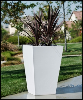 Urban Chic Tapered Premier Composite Commercial Planter 24in.L x 18in.W x 24in.H