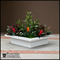 Ventura Low Square Planter
