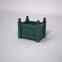 Versailles Premier Composite Commercial Planter 24in.L x 18in.W x 18in.H