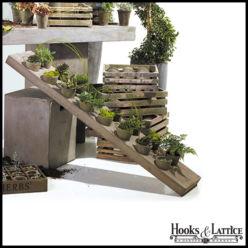 Vertical garden with containers for Vertical garden containers
