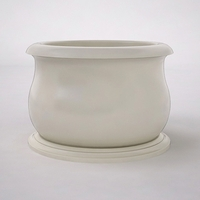 "Villagio 60"" Dia. x 42""H Round Planter"