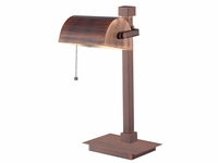 Vintage Bankers Desk Light - Vinage Copper