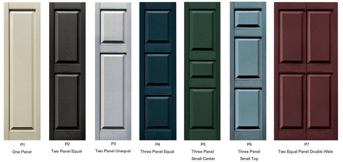 Vinyl raised panel shutters raised panel vinyl exterior shutters How to make exterior shutters