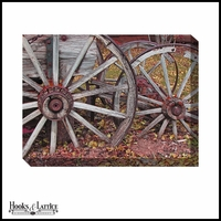 Wagon Wheels - Canvas Artwork