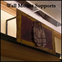 Kiel Wall Mount Supports - Pair
