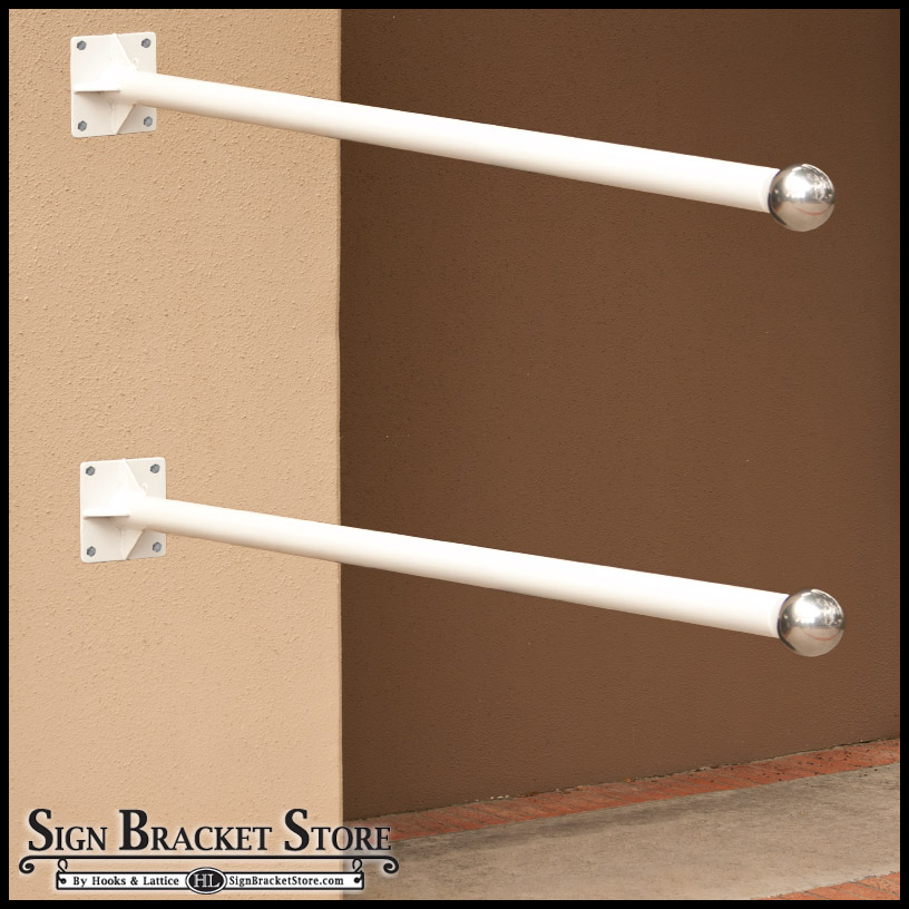 Wall Hanging Brackets wall mounted banner brackets, hardware - sign bracket store
