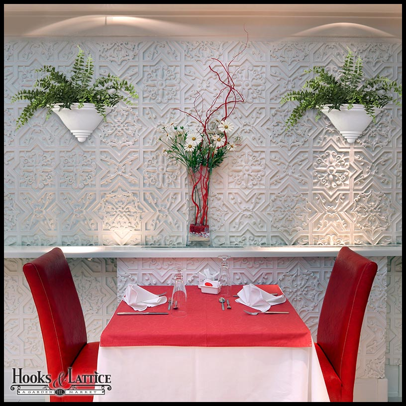 Wall Planters, Flower Pot Holders And Plant Sconces Click To Enlarge