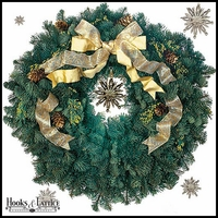 Star Bright Wreath - 24in.