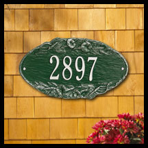 Wellington Address Signs - Black