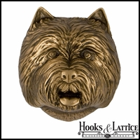 West Highland White Terrier Door Knocker