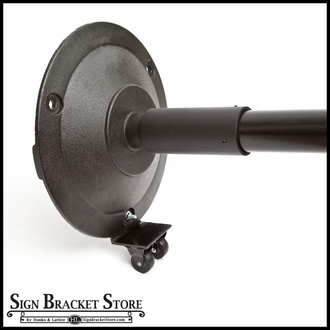 """Wheels for 17.25"""" Cast Iron Bases"""