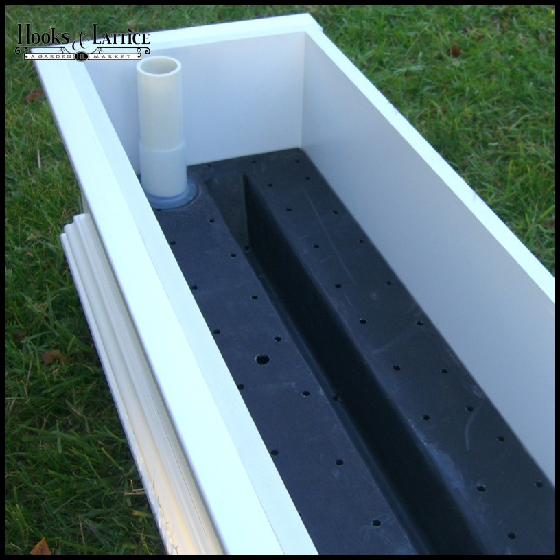Self Watering Reservoirs For Window Boxes And Planters