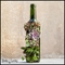 Wine Bottle Succulent Garden