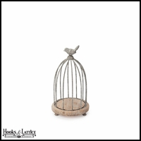 Wood and Wire Decorative Bird Cage