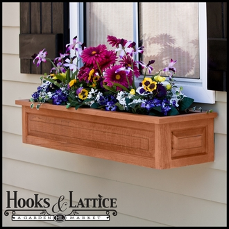 Wood Window Boxes Click To Enlarge