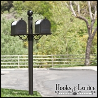 Woodmont Double Mail Box Complete System