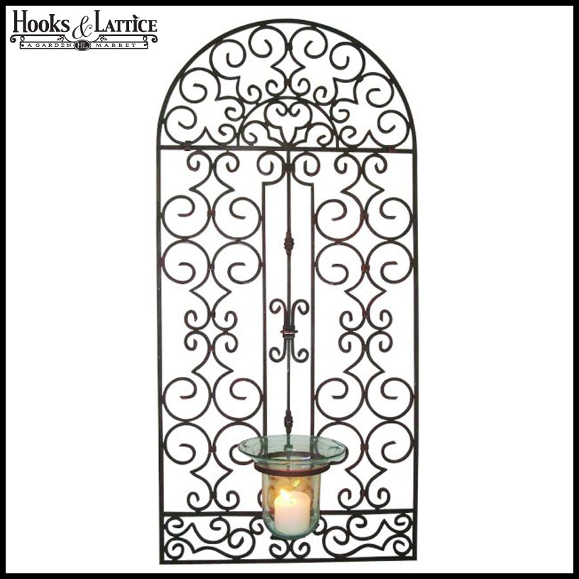 wrought iron wall art click to enlarge - Wrought Iron Wall Designs