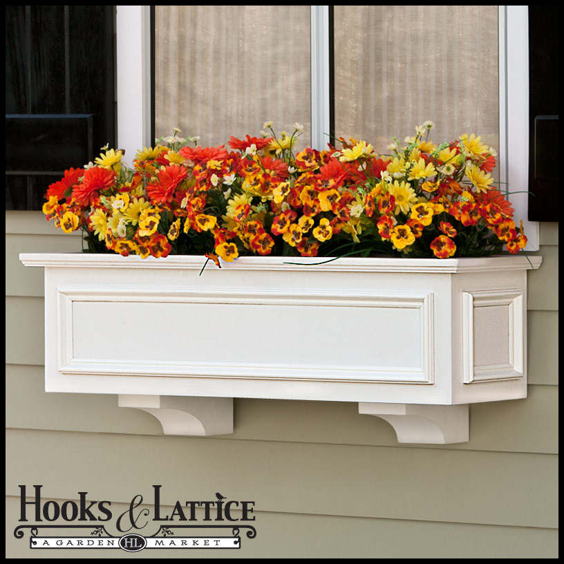 xl panel premier window boxes are a classic home accent. Black Bedroom Furniture Sets. Home Design Ideas