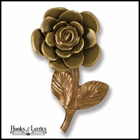 Yellow Rose Door Knocker
