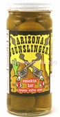 Arizona Gunslinger - Smokin' Hot Jalapeno Stuffed Olives, 8oz.