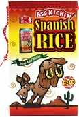 Ass Kickin' Spanish Rice - With Mini Hot Sauce, 10oz.
