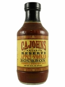 CaJohn's Applewood Smoked Bourbon Chipotle Barbecue Sauce, 16oz.