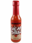 Cheap Thrill Garlic Habanero Hot Sauce, 5oz.
