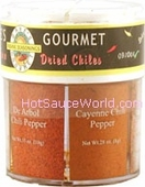 Dave's Gourmet 6 Pure Dried Chiles.