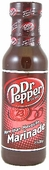 Dr. Pepper More than Mesquite Marinade, 14oz.