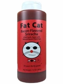 Fat Cat Bacon Flavored Sriracha Sauce, 12oz.