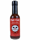 Fat Cat Cat in Heat Hot Sauce, 5oz.