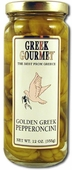 Greek Gourmet Golden Greek Pepperoncini, 12oz.