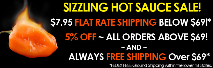 HotSauce World FREE Shipping Over $69