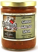 Jose Goldstein Garlic Cactus Salsa, 12oz.