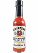 Kentucky Straight Bourbon Reaper Pepper Hot Sauce, 5oz.