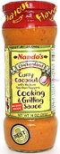 Nando's Curry Coconut Cooking & Grilling Sauce, 10oz.