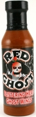 Red Ghost Blistering Heat Wing Sauce with Ghost Peppers, 12oz.
