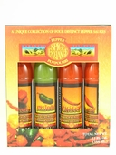 Spice Exchange 4 Pepper Hot Sauce Gift Set, 4/3oz.