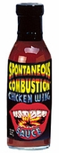 Spontaneous Combustion Chicken Wing Sauce, 10oz.