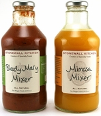 Stonewall Kitchen Bloody Mary Mixer & Mimosa Mixer Combo, 12oz.