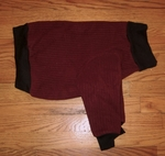 Whippet Beet Heavy Fleece Sweater