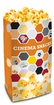Double Lined Popcorn Bags Cinema Theme 85oz
