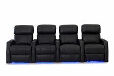 HT Design Belmont Home Theater Seating with Power Headrest